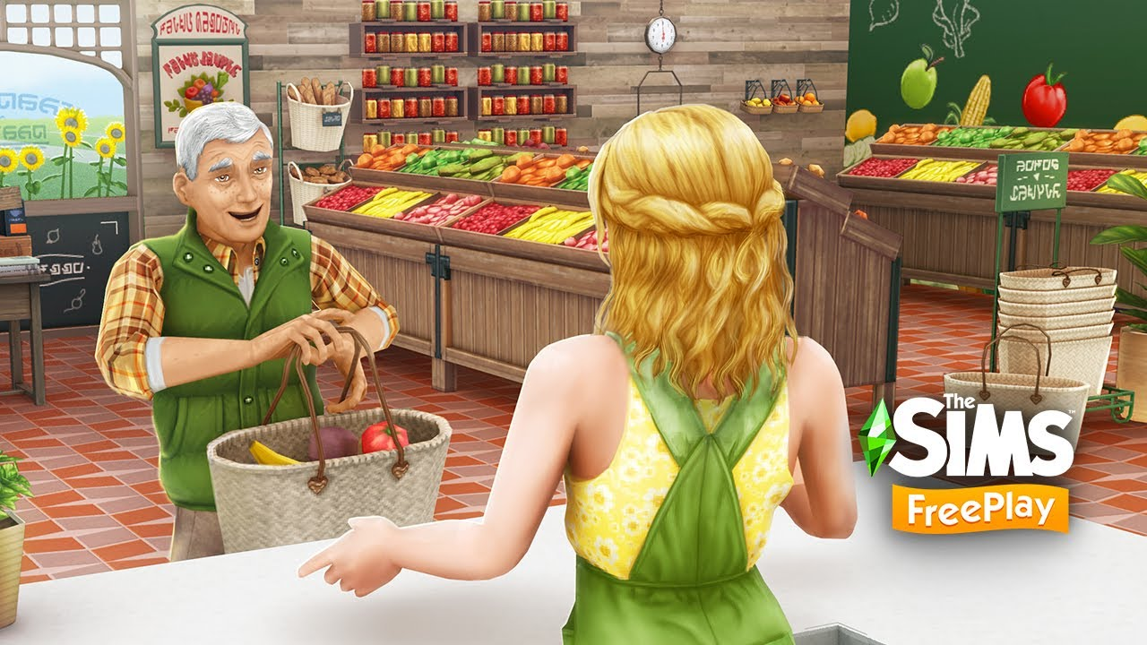 The Sims Freeplay Grocery