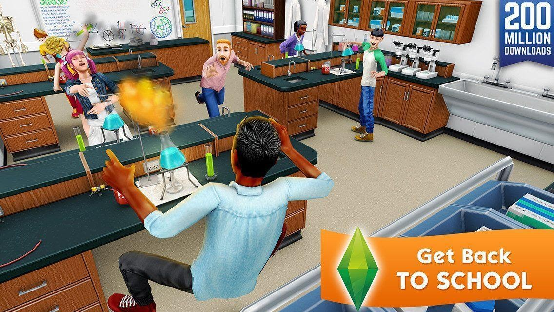 The Sims Freeplay School Zone