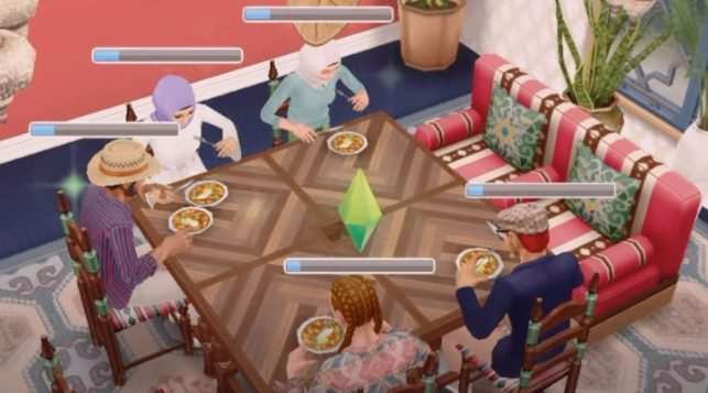 The Sims Freeplay Magical Morocco