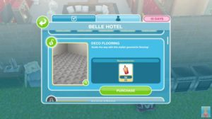 The Sims Freeplay Belle Hotel Event screenshot