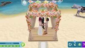 The Sims Freeplay Rustic Wedding